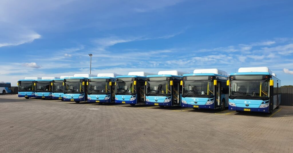 Interline Electric Buses